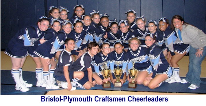 Bristol Plymouth Craftsmen Cheerleaders