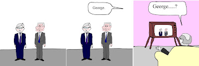 Kevin Rudd George Bush