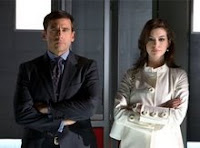 Get Smart - Steve Carell as Maxwell Smart and Anne Hathaway as Agent 99