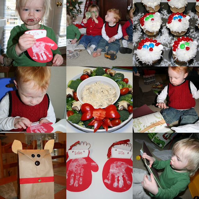 Christmas party at playgroup