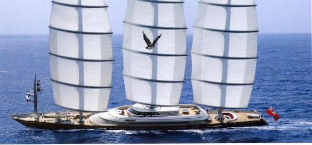 sailing yacht in Ibiza