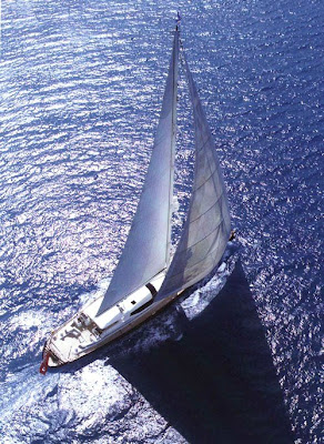 sailing yacht in ibiza