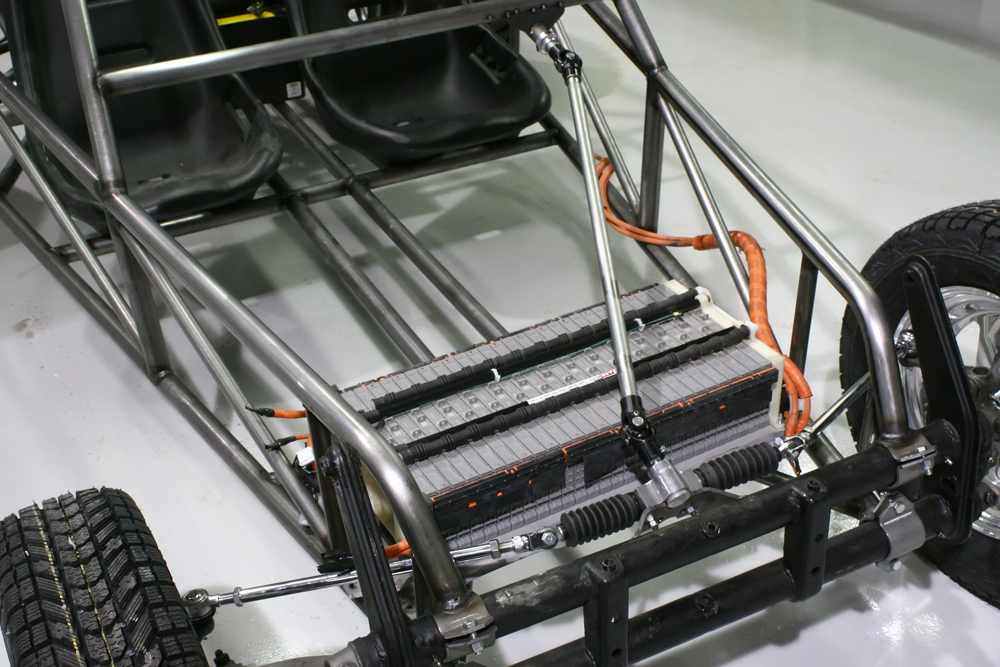 Hybrid car technology