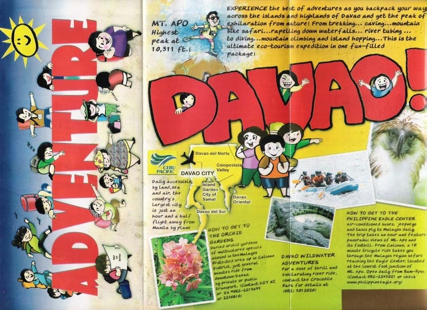 Travel Central Philippines: Brochure - Davao Adventure