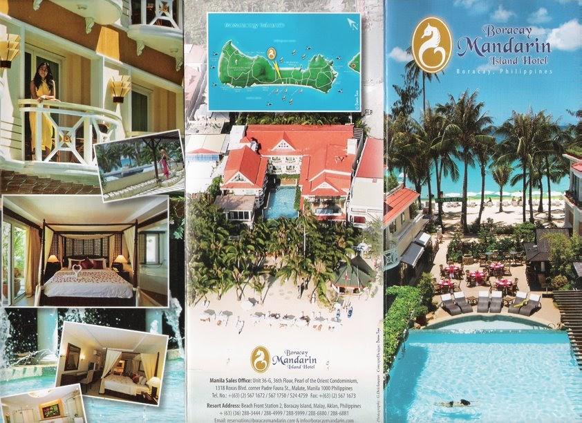 TRAVEL CENTRAL PHILIPPINES: Brochure - Boracay Mandarin ...