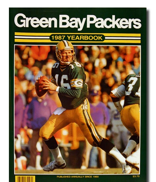 Packerville U S A Green Bay Packers Yearbook 1987