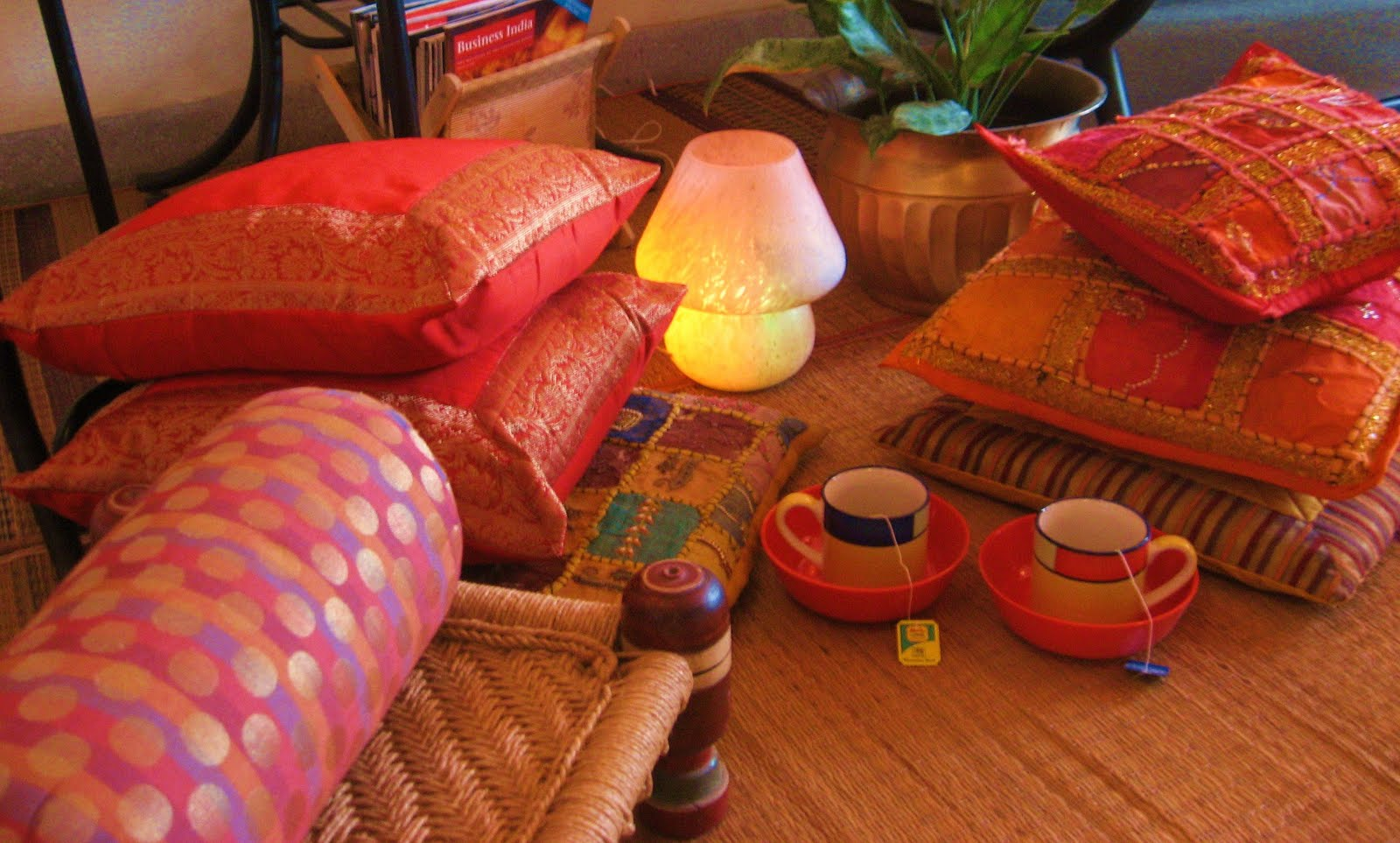 Ethnic Indian Decor: Co-Blogger Find Of This Month