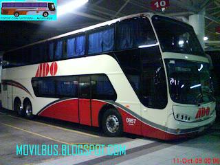 Movilbus busscar dd panoramico autobuses de oriente region jalapa - Autobuses de dos pisos ...