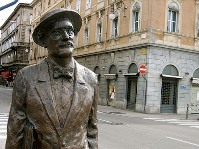 Statue of Joyce in Trieste, Italy