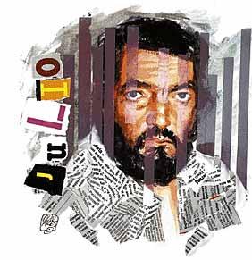 Julio Cortazar - portrait