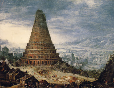 Babel Tower, by unknown Flemish painter