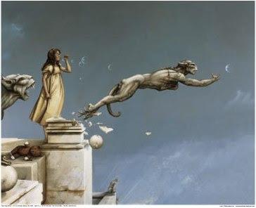 Gargoyles, by M Parkes