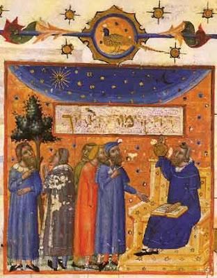 Maimonides on an illuminated book