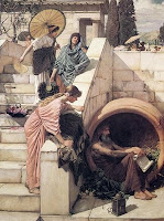 Diogenes of Sinope, by Waterhouse