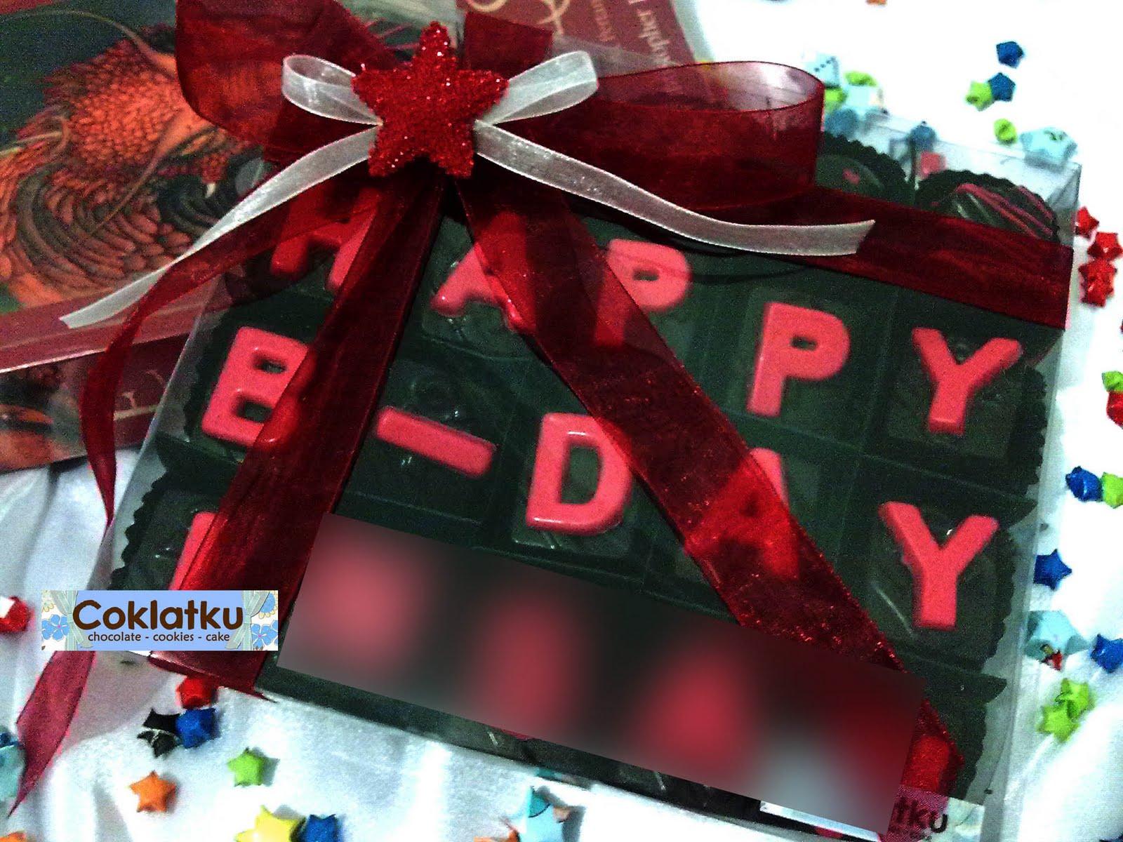 Coklat Hadiah Spesial Ulang Tahun