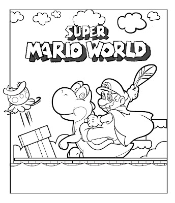 mario star wars coloring pages | alphabet coloring sheets: Mario Coloring Sheetsyoda ...