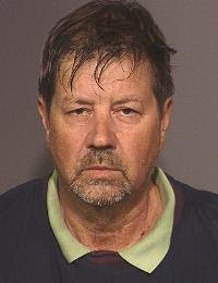 Vanity Fair's Alex Shoumatoff Mug Shot | Arrested at Bohemian Grove Hiding Behind Redwood Tree