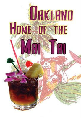 Oakland Mai-Tai Day Party at Conga Lounge in Rockridge today
