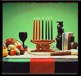 Happy Kwanzaa!  December 26th is the first day of Kwanzaa