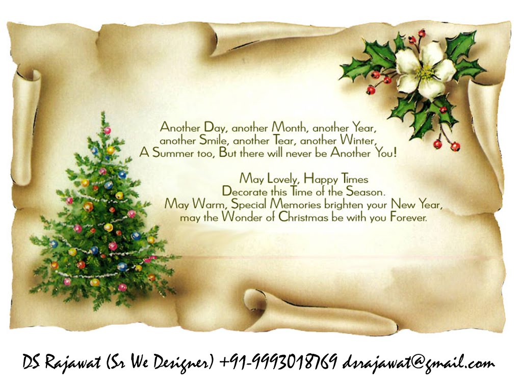Christmas Wishes Quotes And Poems For Friends: DS Rajawat Blogs: New Year Wishes Greetings Indian