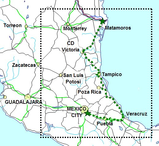 Elder Vincent Miller Tampico Mexico Mission Map Of Tampico Mexico