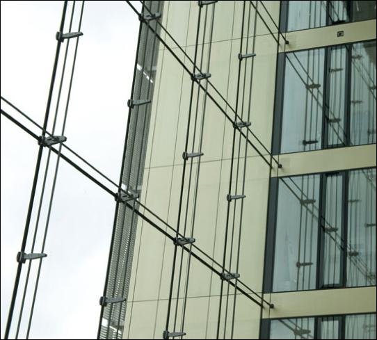 Mullionless Curtain Wall System : Façades confidential thyssenkrupp quarter facades a