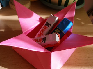 Candy dish origami