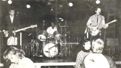 Los Jetz en vivo en 1983