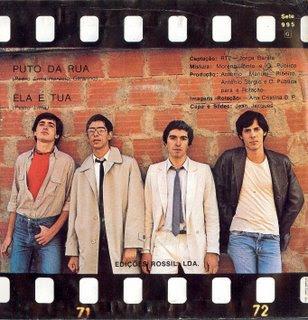 Los Opinião Pública en la portada de su single
