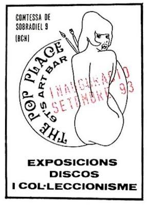 Flyer de la inauguración del Pop Place