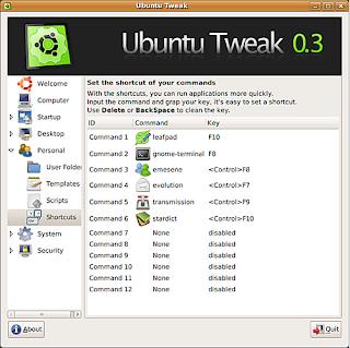 out 1 Rilasciato Ubuntu Tweak 0.3.0 per Ubuntu Hardy