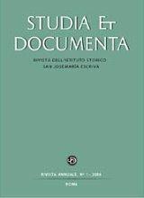 Instituto Histórico San Josemaría Escrivá de Balaguer Opus Dei