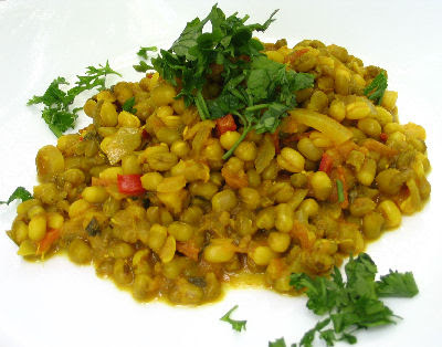 Indian Style Spicy Mung Beans (Moong Dal)