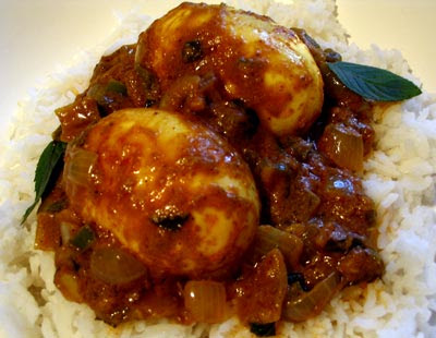 Eggs Vindaloo