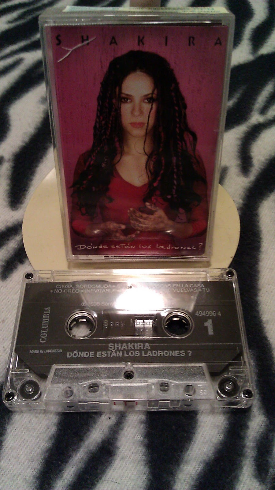 My Shakira Collections Cassette