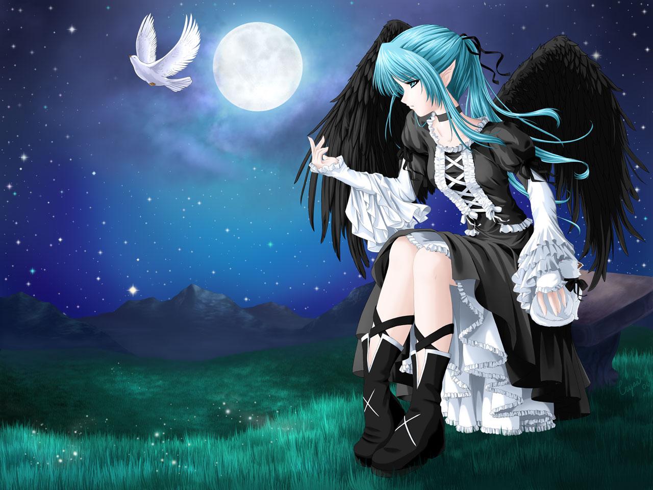 Anime 4k Wallpaper: Anime: Anime Angel