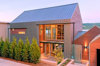 Building Green In Vermont Some Other Modern Farmhouses