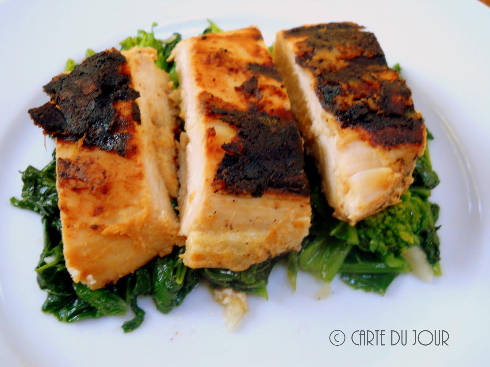 Carte Du Jour Grilled Miso Chicken Tori Misoyaki With -6003