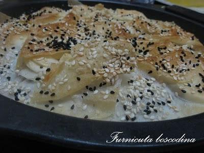 Placinta marocana cu fetta de oaie