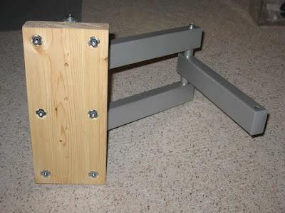 comment fixer une t l au mur dan 39 s web log. Black Bedroom Furniture Sets. Home Design Ideas