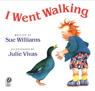 Cover of Sue Williams' I Went Walking