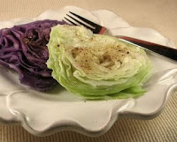 Cabbage Roses, a favorite quick vegetable - click photo
