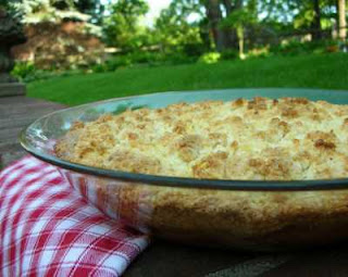 A simple dessert that sings of spring, at KitchenParade.com, click for the recipe!