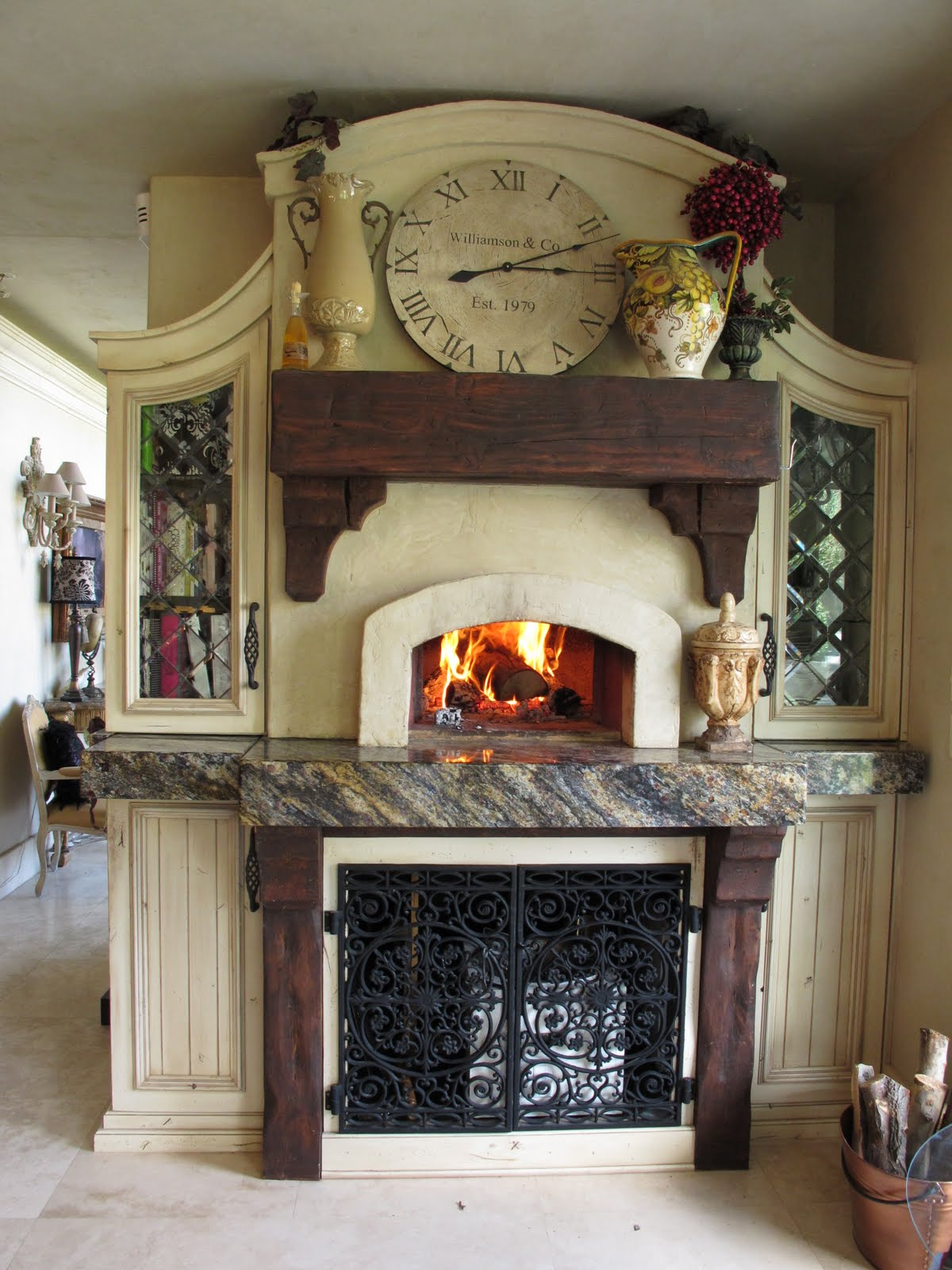 A Slice of Italy - Our Wood-burning Pizza Oven - Purple ...