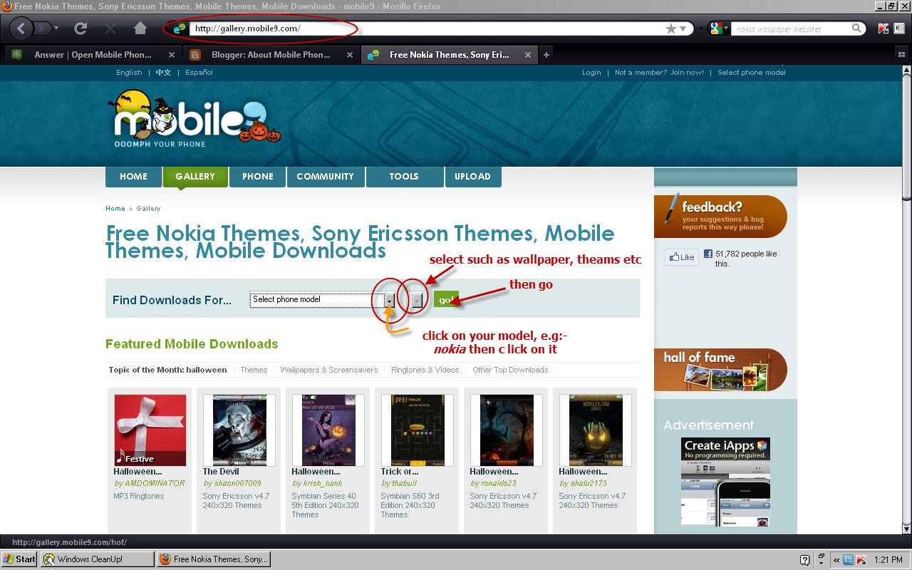 jeux mobile9 samsung s5233w
