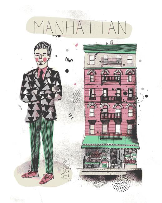 Manhattan All the Buildings in New York James Gulliver Hancock