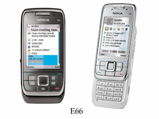 Nokia E66 colors