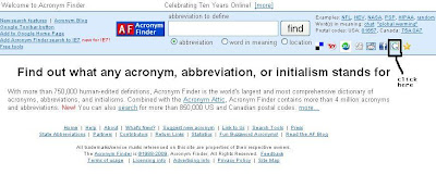 Expand Any Acronym, Abbreviation or Intialism 1