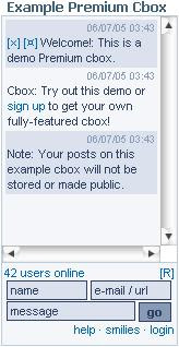 Cbox - A Unique Commenting & Chat Widget 1