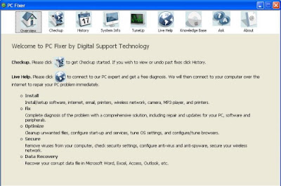 PC Fixer Overview - Digital Support Technology